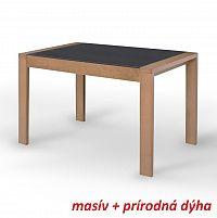 Jídelní stůl v moderním dřevěném provedení dub JANADAN