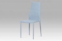 Jídelní židle celočalouněná modrou látkou DCL-423 BLUE2