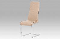 Jídelní židle látka cappuccino DCL-402 CAP2