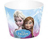Kbelík na popcorn FROZEN, prům.18 cm, výška 14 cm