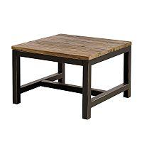 Konferenční stolek s dřevěnou deskou Harvest, 60 cm