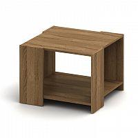 Konferenční stolek v moderním jednoduchém provedení hnědá TEMPO AS NEW 026
