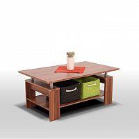 Konferenční stolek v moderním ořechovém dekoru ROKO