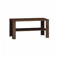 Konferenční stolek v moderním tmavém provedení dubu lefkas TEDY T13