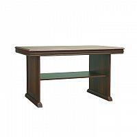 Konferenční stolek ve stylovém rustikálním designu hnědá KORA