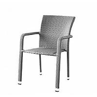 Křeslo v moderním šedém provedení BARCELONA
