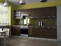 Kuchyňská linka v dekoru wenge 320 cm F1410