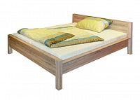 Manželská postel AGUSTYN LOZ/180 dub sonoma 180x200 cm