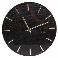 Nástěnné hodiny Mramor, 30 cm, černá
