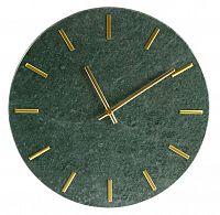Nástěnné hodiny Mramor, 30 cm, zelená