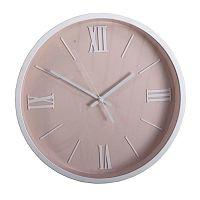 Nástěnné hodiny Roman, 36 cm, růžová