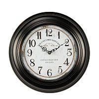 Nástěnné hodiny The country cottage, 62 cm
