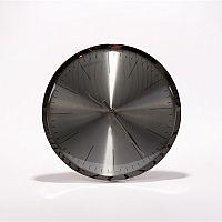 Nástěnné hodiny Tiden, 33 cm, stříbrná