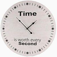 Nástěnné hodiny Time, 58 cm