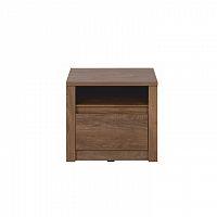 Noční stolek 50x46cm v moderním dubovém provedení TK2156