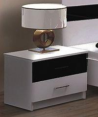 Noční stolek KN174 černý