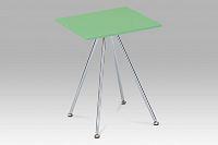 Odkládací stolek vysoký lesk zelený 83467-02 LIM AKCE
