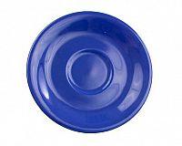 Podšálek keramický 15,5 cm, modrý