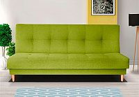 Retro pohovka v zelené barvě F1179