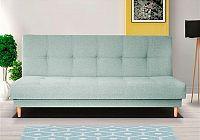Retro pohovka ve světle modré barvě F1179