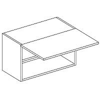 Skříňka horní digestořová EKRAN WENGE š.60cm WO 60 v 35