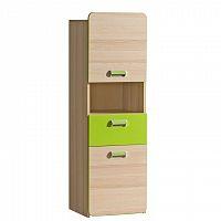 Skříňka v jednoduchém moderním provedení zelená EGO L4