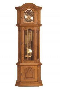 Stojací hodiny v rustikálním stylu s možností výběru moření KN642