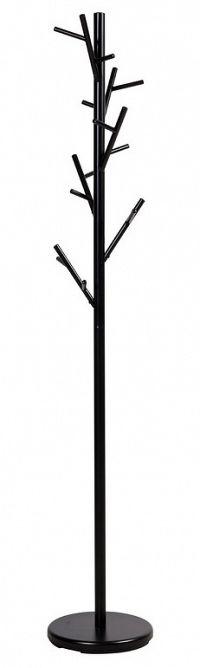 Stojanový kovový věšák 176 cm v černé barvě KN611