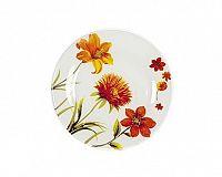 Talíř skleněný dezertní MIRANDA 20,3 cm