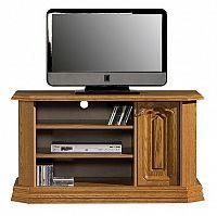 Televizní stolek v rustikálním stylu s možností výběru moření typ 17 C KN642