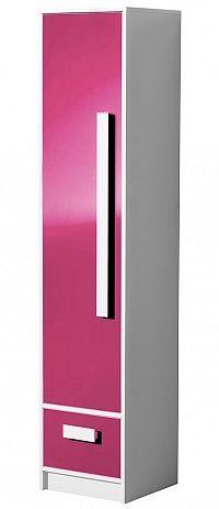 Úzká policová skříň 40 cm s možností výběru barev typ 4 KN1077