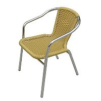 Zahradní hliníková židle MCR 015