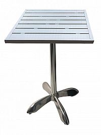 Zahradní hliníkový stůl 80x80 cm MTA 008