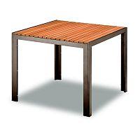 Zahradní hliníkový stůl 90x90 cm TAM03702-S90
