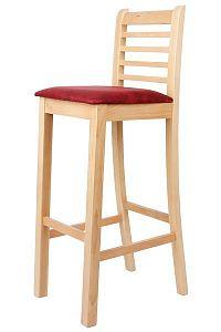 Židle buková barová ŠÁRKA Z87