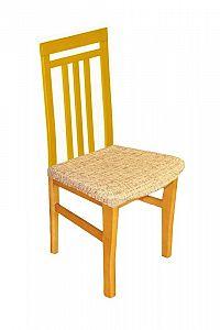Forbyt, Potah elastický na sedák židle, Andrea hnědá komplet 2 ks
