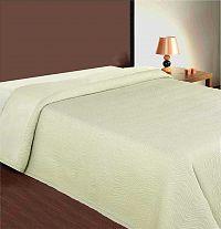 Forbyt, Přehoz na postel, Basico, smetanový 240 x 260 cm