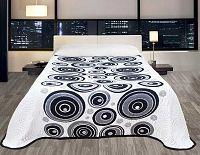 Forbyt, Přehoz na postel, Congo, černo-bílý 240 x 260 cm