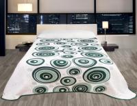 Forbyt, Přehoz na postel, Congo, zelený 240 x 260 cm