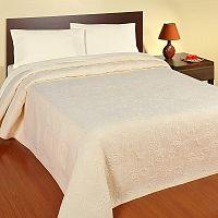 Forbyt  Přehoz na postel, Estrella, smetanová 240 x 260 cm