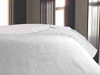 Forbyt, Přehoz na postel, Libania, bílý 240 x 260 cm
