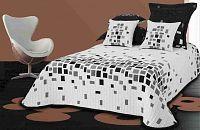 Forbyt, Přehoz na postel, Orleans, béžový 240 x 260 cm + 2 ks 40 x 40 cm