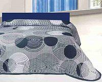 Forbyt, Přehoz na postel, Scorpio, tmavě modrý 240 x 260 cm