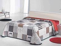 Forbyt, Přehoz na postel, Special, bordovočerný 240 x 260 cm