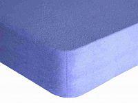 Forbyt, Prostěradlo, Froté Premium, světle modrá 70 x 140 cm