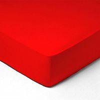 Forbyt, Prostěradlo, Jersey, červená 70 x 140 cm