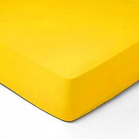 Forbyt, Prostěradlo, Jersey, žlutá 70 x 140 cm