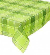 Forbyt, Ubrus bavlněný, Nová Bella, zelený, obdélník 140 x 220 cm