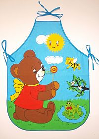 Forbyt  Zástěra dětská, Medvídek