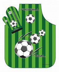 Forbyt, Zástěra nebo komplet, Fotbal zelená dvojkombinace